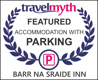 Travel Myth Featured Accommodation with Parking Award icon