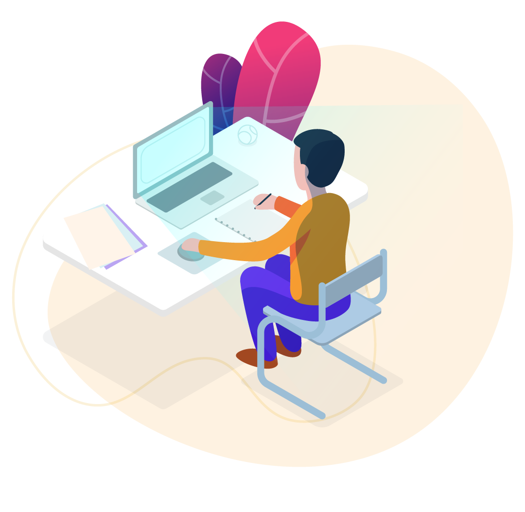 growth marketing company illustration