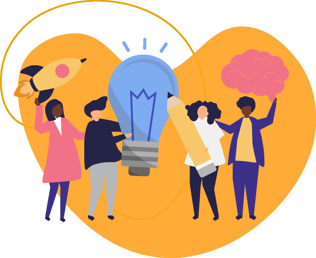growth marketing company illustration