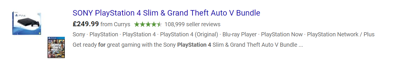 PlayStation 4 GTAV bundle