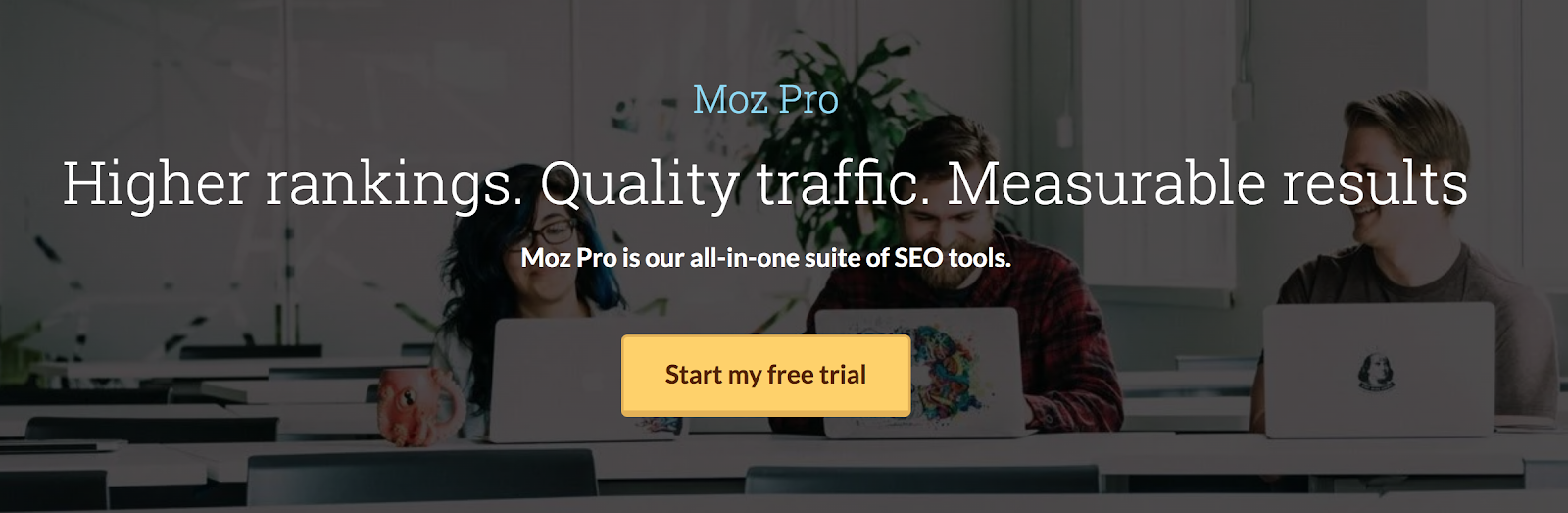 Moz Pro Landing Page Snippet
