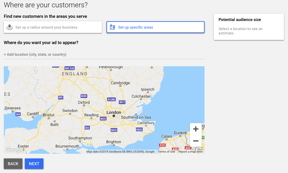 Planner for google keyword