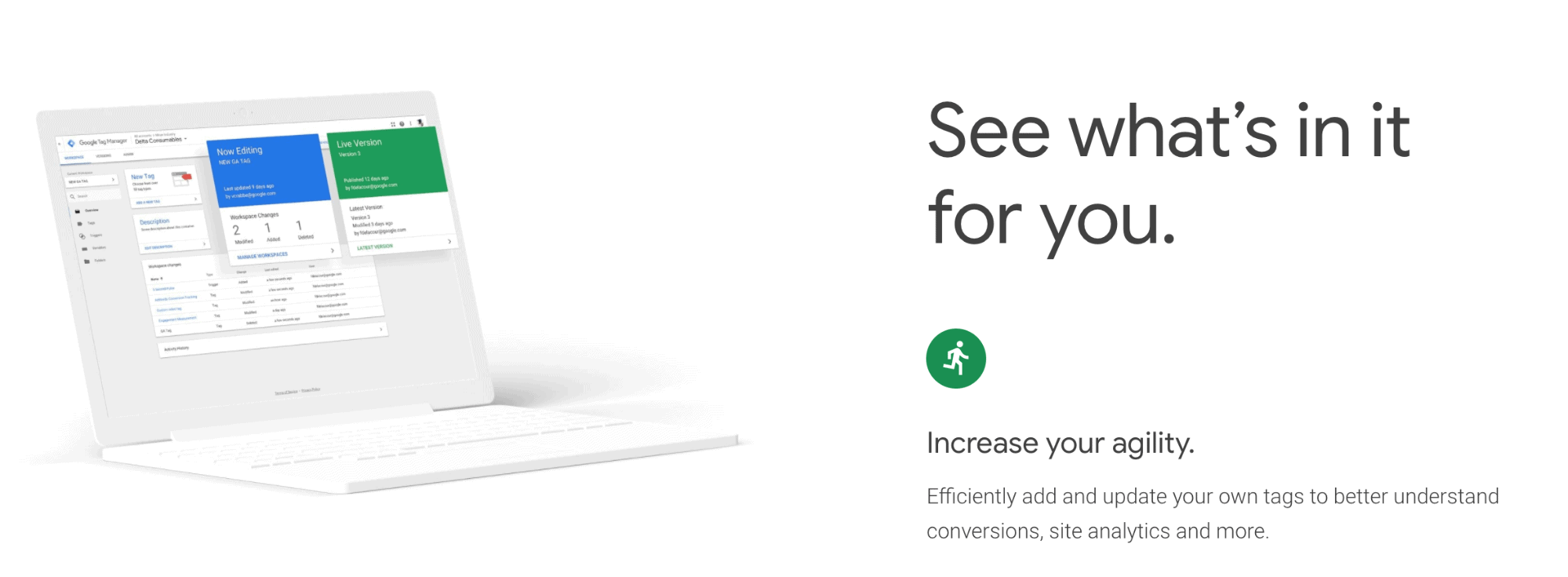 Google Tag Manager Landing Page Snippet