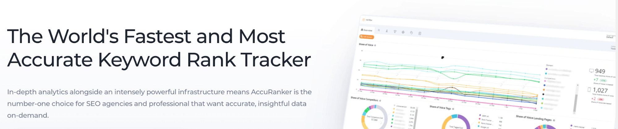 AccuRanker Landing Page Snippet