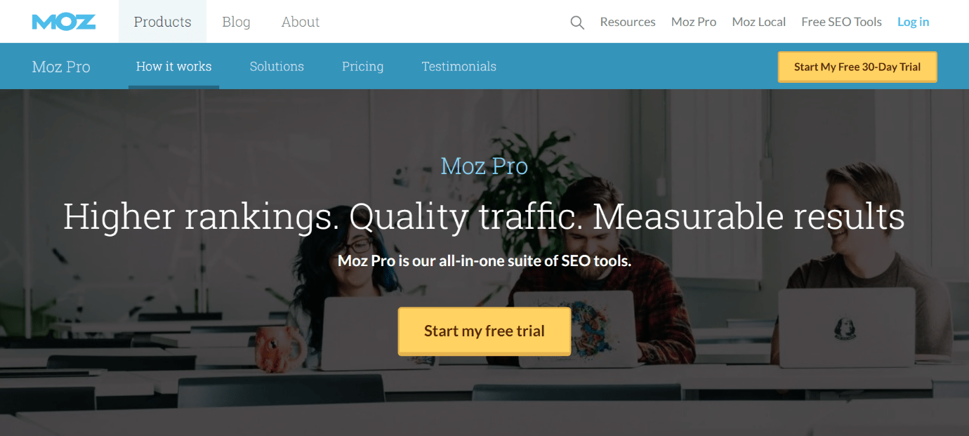 Moz Homepage Snippet