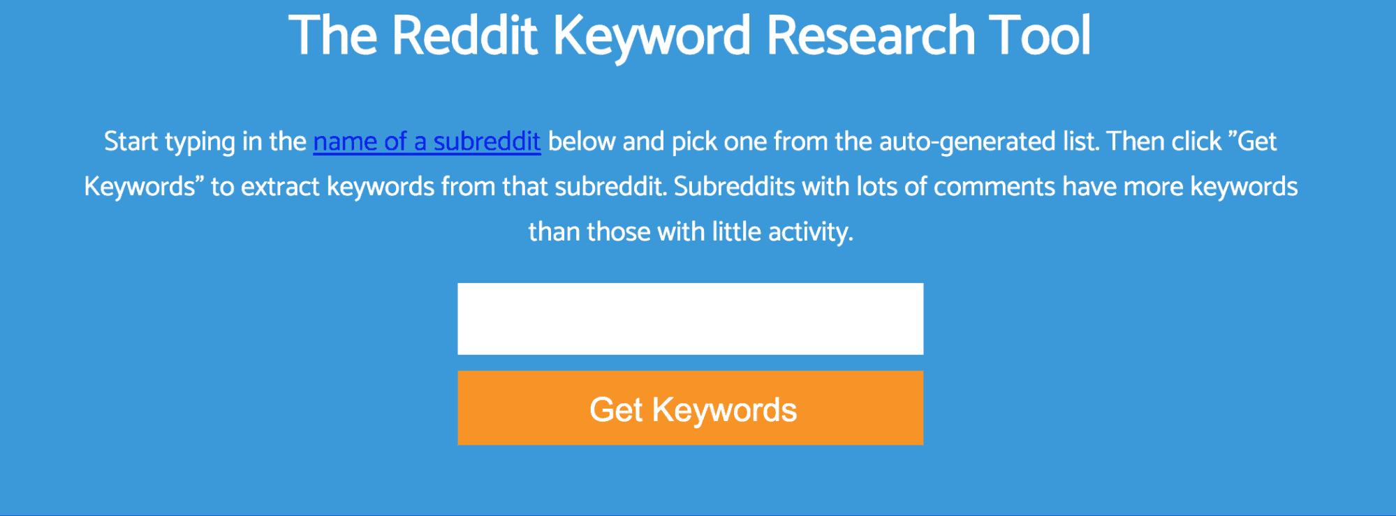 Keyworddit Landing Page Snippet