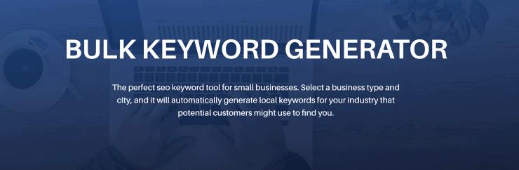 Bulk Keyword Generator - Best Free Keyword Research Tools