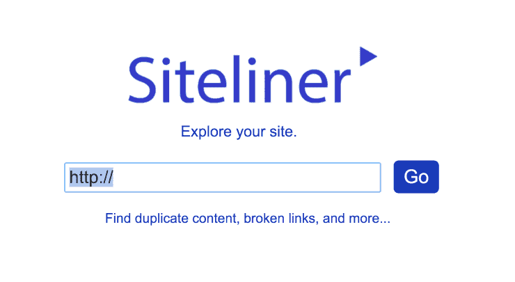 Siteliner Landing Page Snippet - Best SEO Audit Tools