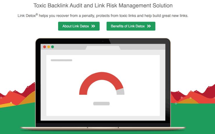 Link Detox Landing Page Snippet - Best SEO Link Building Tools