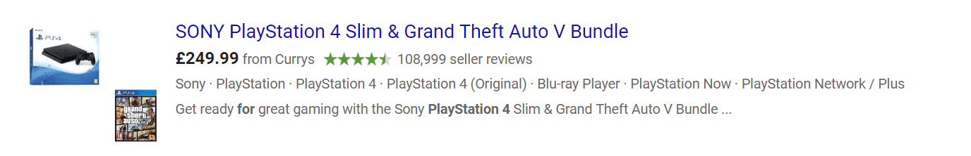 PlayStation 4 GTAV bundle
