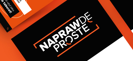 NaprawdeProste.pl - Visual indentity & Website (link to project published on behance.net)