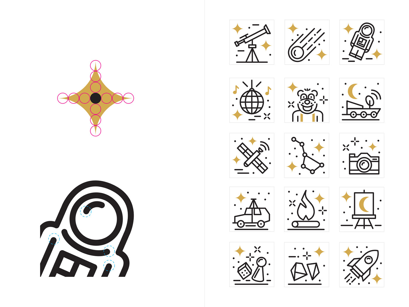 Icon set and an illustration guide