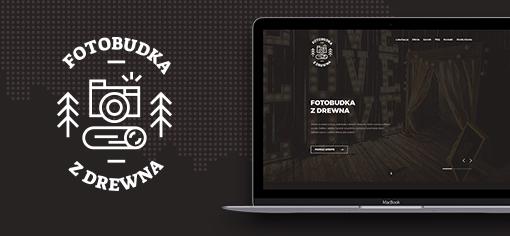 Fotobuka z drewna - Logo & Website