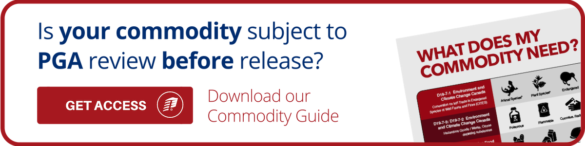 PGA Commodity Guide