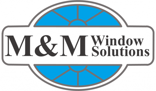 m&m window solutions logo