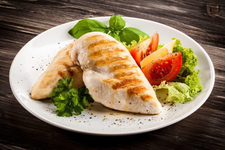 Thực ít gà giúp tăng cân