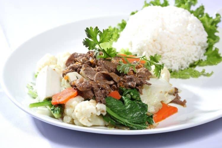 Thịt bò nạc giúp tăng cân