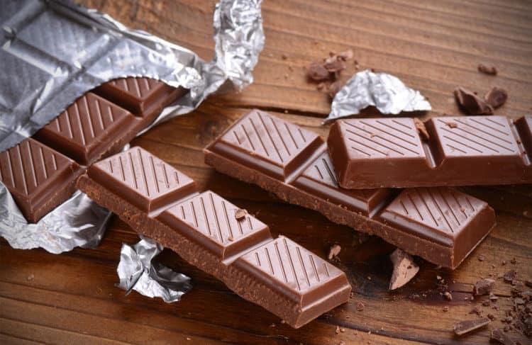 Chocolate giúp tăng cân