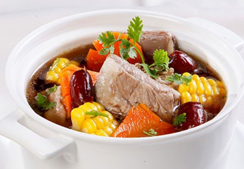 Thịt heo giúp tăng cân