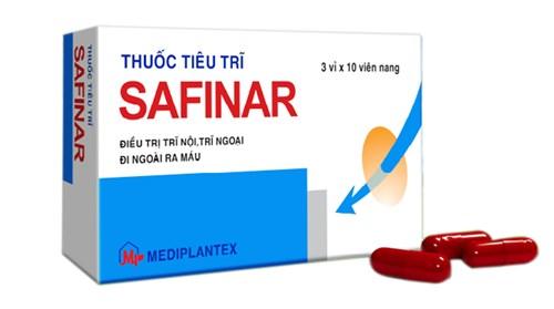Thuốc điều trị bệnh trĩ Safinar: