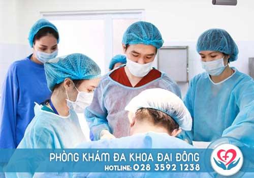 Điều trị bệnh u nang buồng trứng tại Đa khoa ĐạI Đông