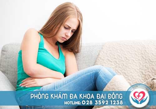 Bệnh u nang buồng trứng gây ra các cơn đau