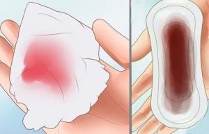 máu báo thai có màu gì