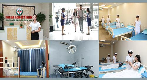 Cơ sở vật chất phòng khám đa khoa quốc tế cộng đồng