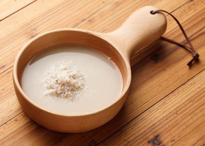 Rửa mặt bằng nước vo gạo là một phương pháp làm đẹp có từ rất lâu