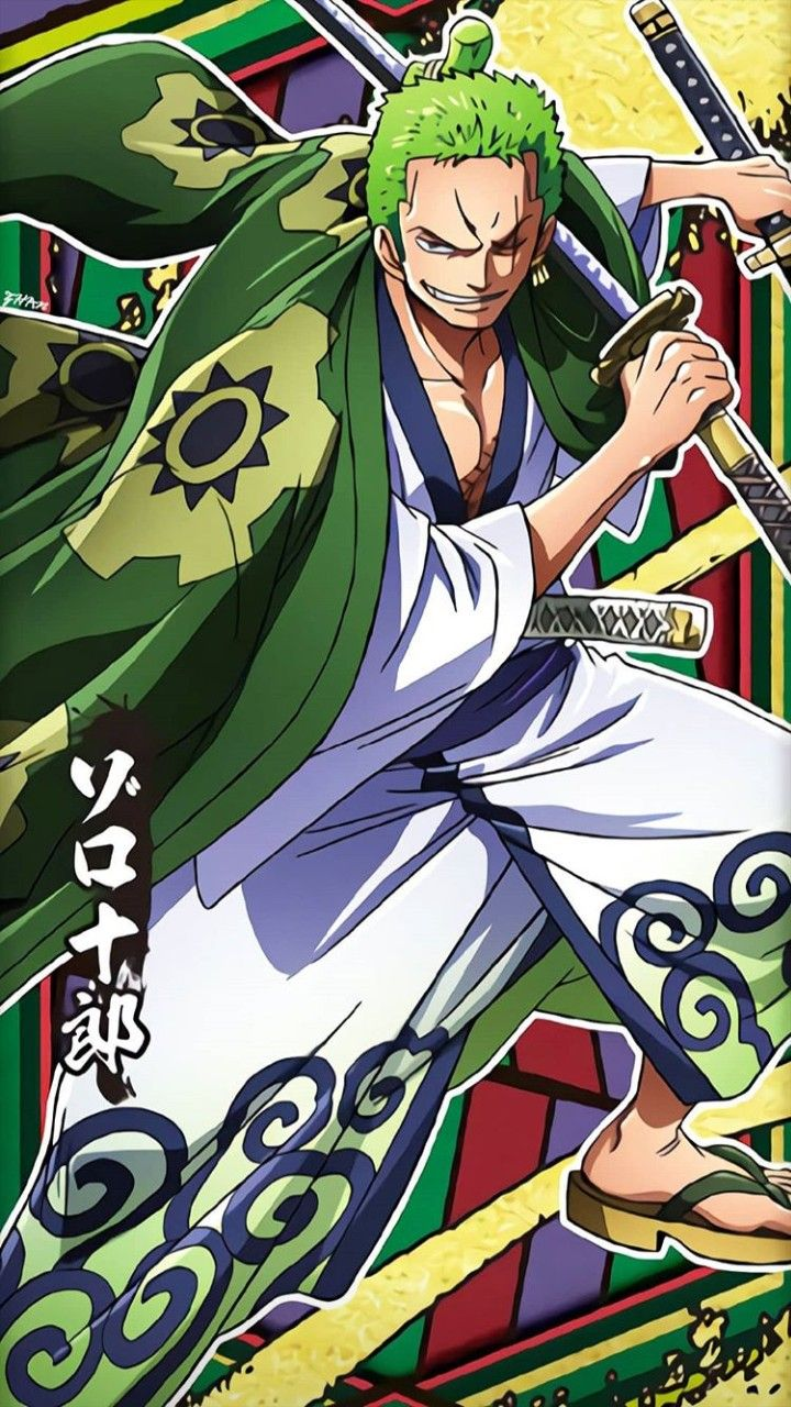 Hình Nền One Piece Zoro Cho Iphone