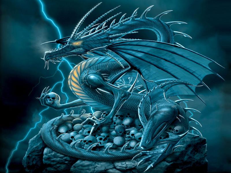Hình ảnh 3d đẹp Nhất Về Con Rồng