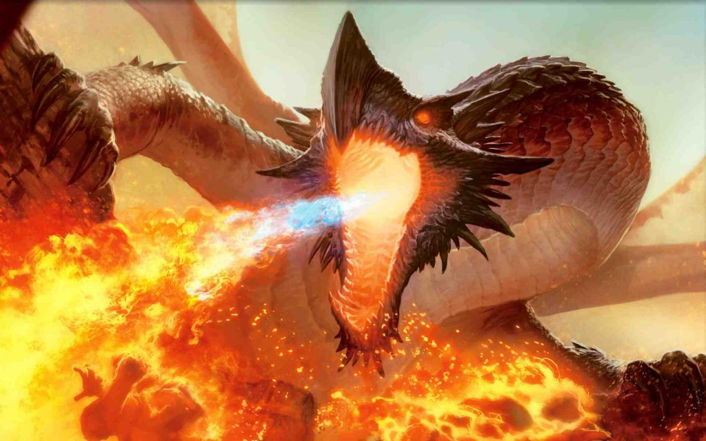 Hình ảnh Con Rồng Phun Lửa