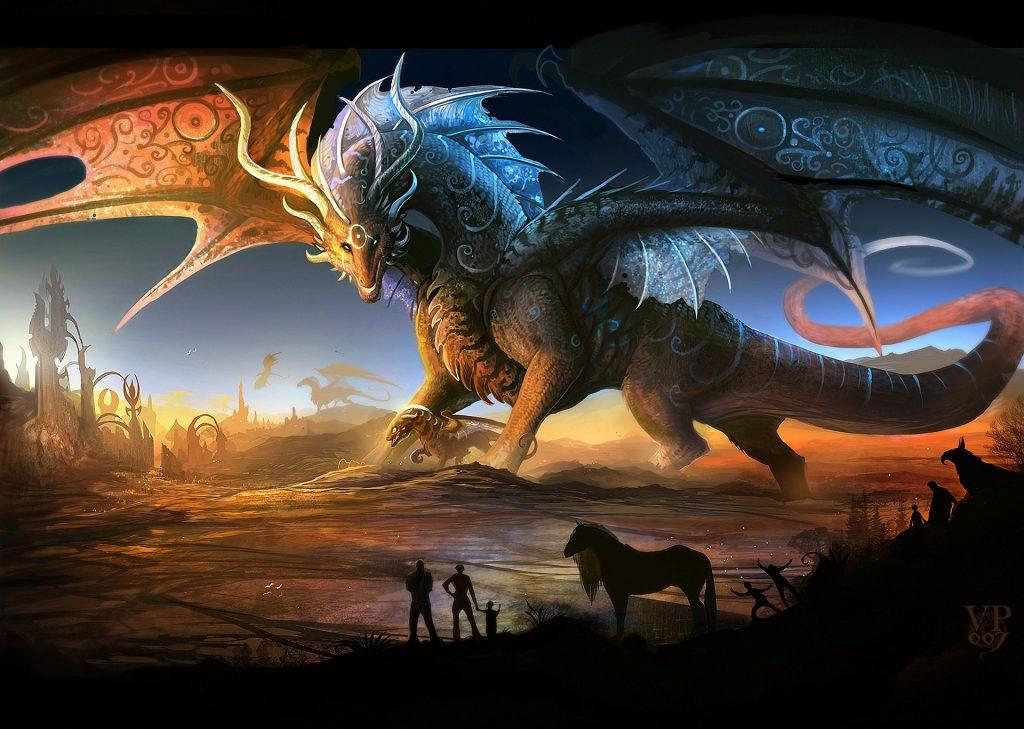 Hình ảnh đẹp Nhất Về Con Rồng 3d