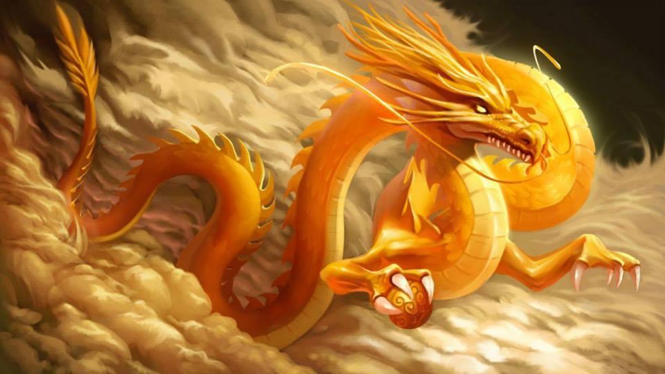 Con Rồng Vàng đẹp ấn Tượng