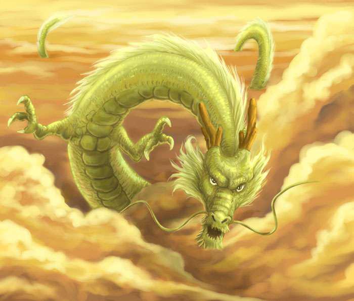 Hình ảnh Con Rồng Bay Lượn