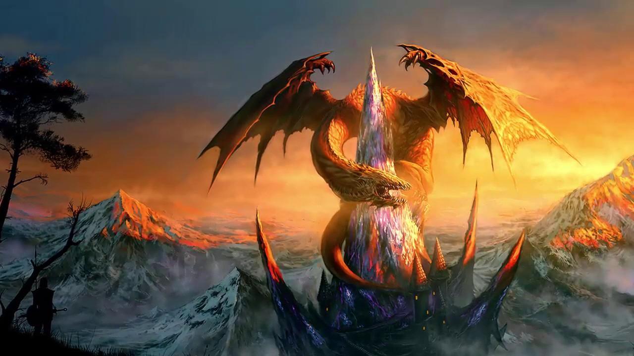 Hình ảnh đẹp Về Con Rồng Trong Huyền Thoại