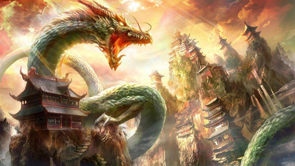 Hình Nền đẹp ấn Tượng Về Con Rồng