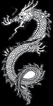 Rồng, Thằn Lằn, Con Quái Vật, Hình Xăm