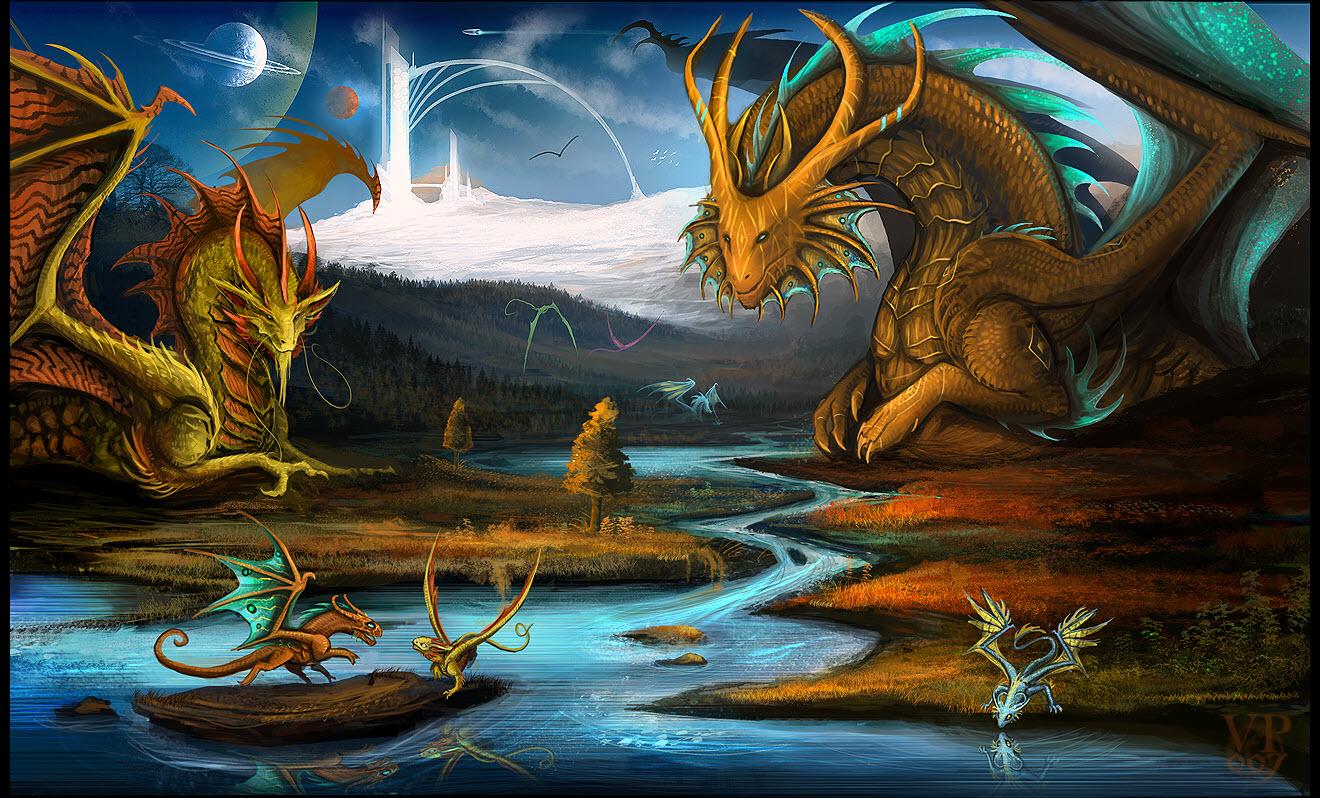 Hình Nền Con Rồng Full Hd Cho Desktop