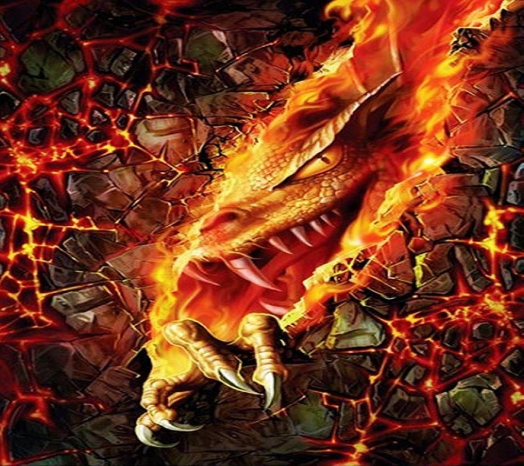 Hình rồng lửa chất nhất