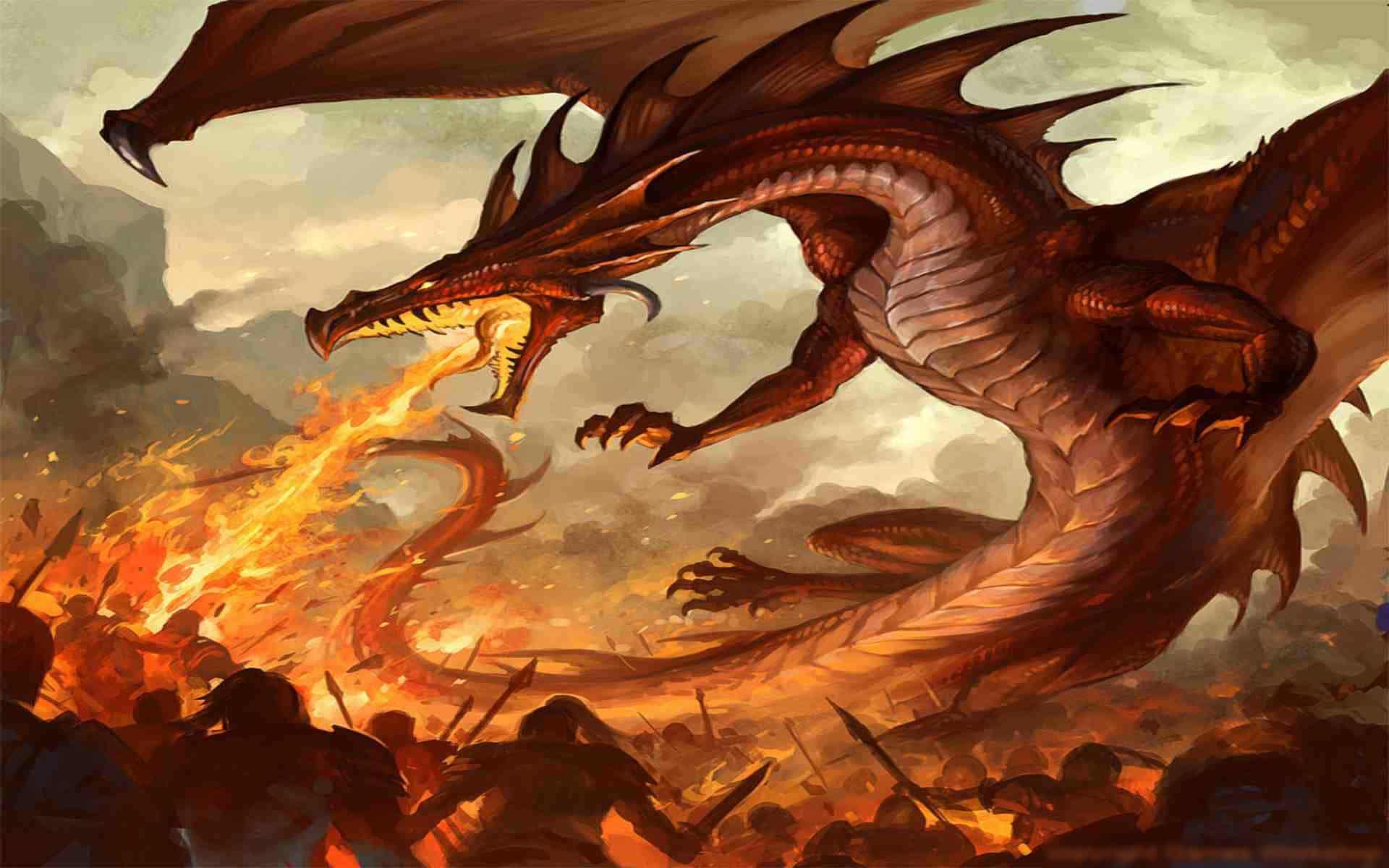 Tải hình rồng lửa đẹp nhất