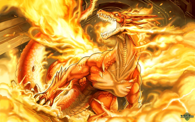 Rồng lửa dũng mãnh đẹp nhất