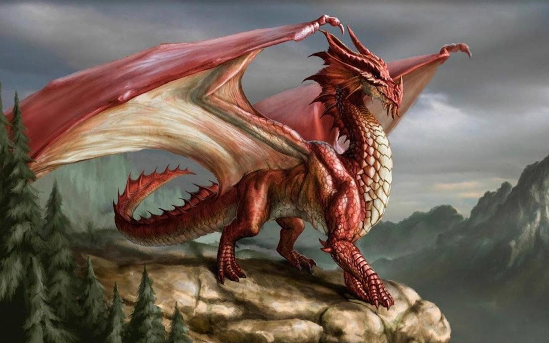 Hình rồng thần 3d