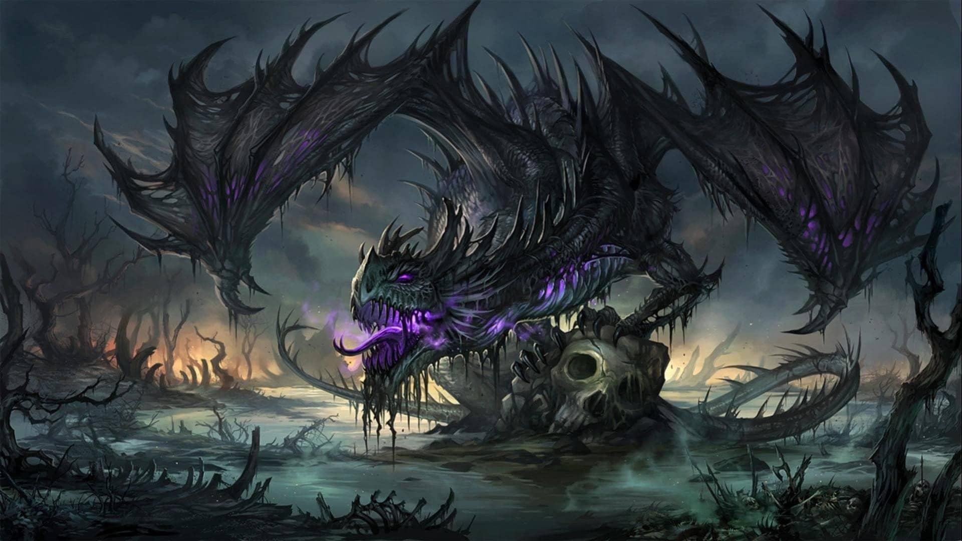 Rồng đen huyền bí