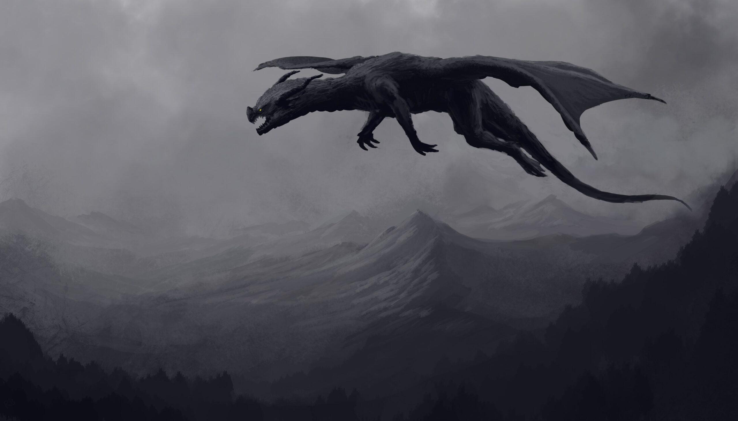 Rồng đen bay