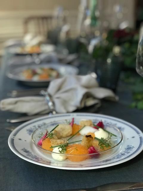 Privat middag på Östermalm