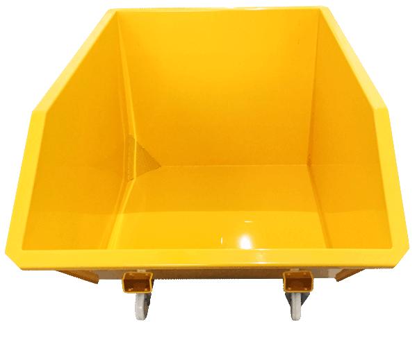 Fabricamos a Caçamba Basculante CE em vários tamanhos e capacidades, aumentando as possibilidades e personalizações de seu uso.