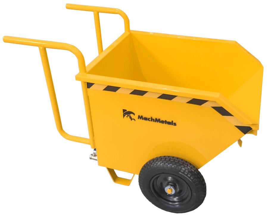 Para movimentação de resíduos leves com mais ergonomia, praticidade e segurança. Com tombamento manual, aço de qualidade, rodas pneumáticas e sistema de dreno. Confira.