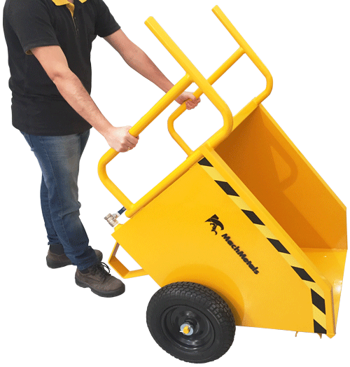 Fabricamos a Caçamba Manual CM no tamanho e capacidade ideais evitando esforço demasiado e melhor acomodação em máquinas de usinagem ou ambientes para descartes.