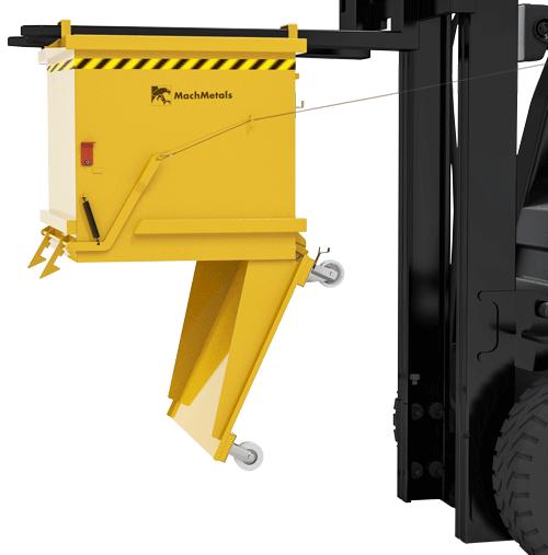 Fabricamos a Caçamba com Fundo Porta CFP em vários tamanhos e capacidades, aumentando as possibilidades e personalizações de seu uso.